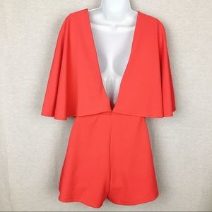 Karlie NWT Cloak Top Backless High Waist Romper M